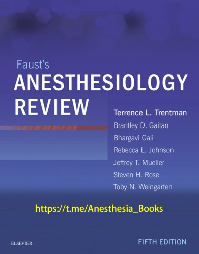 Faust's Anesthesiology Review 5th edition
