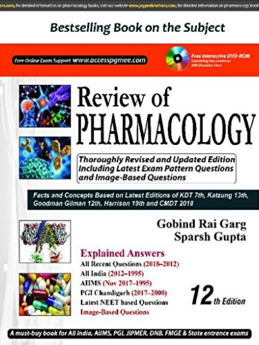 Review of Pharmacology (PGMEE) Paperback – 2018 12th edition