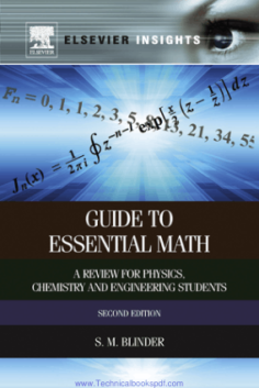 Guide to Essential Math A Review for Physics, Chemistry and Engineering Students